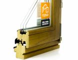 Okna drewniane - Profil 68