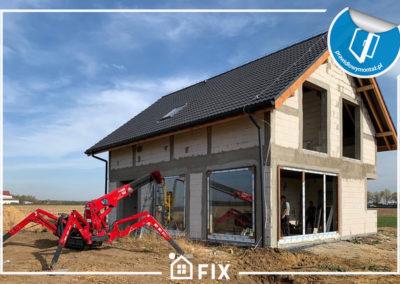 Montujemy okna, drzwi i rolety w domu jednorodzinnym w Smolcu