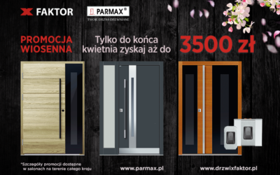 Promocja wiosenna Parmax
