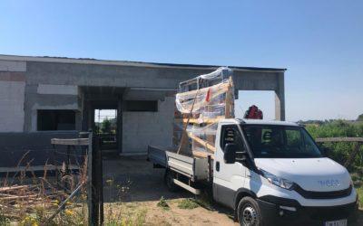 Rozpoczynamy montaż okien w Mokronosie Górnym