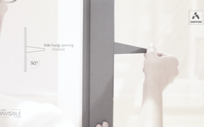 Arch Invisible – okno z ukrytą klamką