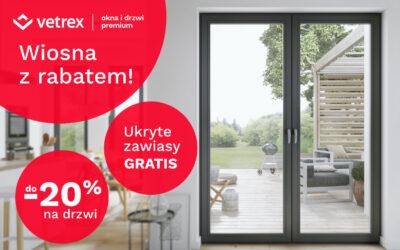 Wiosenna promocja Vetrex