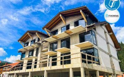 Montaż okien w Karpaczu – kolejny etap