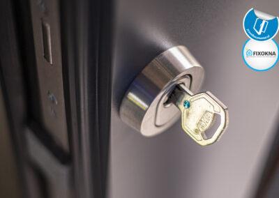 Drzwi zewnętrzne RK450 Exclusive Aluminium